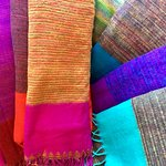 Yak wool blankets and shawls from Nepal