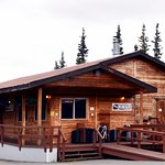 The Prey Bar and Eatery, adjacent to Denali Cabins, serves breakfast, lunch, and dinner.