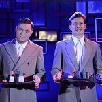 Rain Man Aug 2018 with Mathew Horne (Gavin and Stacy) and Ed Speleers (Downton Abbey)