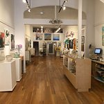 The interior of New Elements Gallery