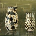 Art deco porcelaine vases