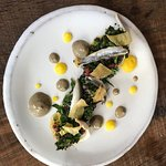 Taboule aux herbes et anchoiade: very creative
