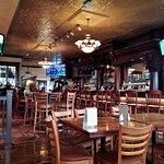 Inside bar view