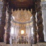 Valokuva: Baldacchino di San Pietro, di Bernini