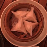 Crystal Skin Prawn and Coriander dumplings - amazing!!