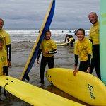 Foto van Surfing Croyde Bay