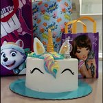 Nothing better than a Millies Rainbow Unicorn Cake to celebrate your birthday in Tenerife x