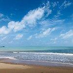 White Sand Beach Foto