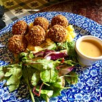 Crispy haggis balls