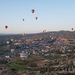 Up, up and away in Cappadocia