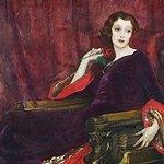 The Red Rose 1923 Irish School Oil on canvas 102.3 x 128cm Sir John Lavery RHA, RA, RSA 1856–194