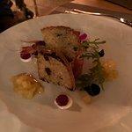Fois gras scampo e pere