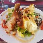 salade de chevre chaud très bonne