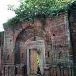 Bad shape of fort of Raipur Rani