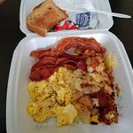 It may not be pretty but it sure is tasty! $3.85 before 11:00 am
