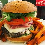 Eion Burger & Sweet Potato Fries