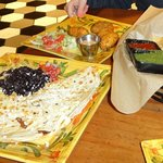 Quesadilla and Jalapeno Poppers at Casa Taco