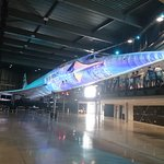 Don't want to see Concorde in the dark, covered in graphics:(