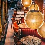 Inside Old Compton Brasserie