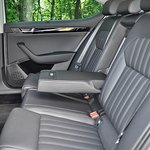 Skoda Superb Leather interior