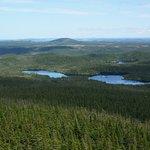 Terra Nova National Park: the view from the Ochre Hill Fire Tower