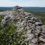 Terra Nova National Park: a dry stone wall