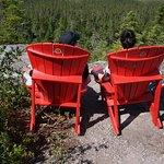 Terra Nova National Park: Muskoka chairs... sit... relax... appreciate!