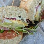 Lox sandwich