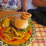 We had 4 different types of burgers in our party, all were huge and soo tasty..