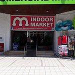 Benidorm famous indoor market