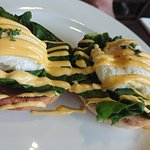 eggs Florentine -breakfast