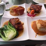 Classic 4: Tuna, salmon, Mahi Mahi, and butterfish.