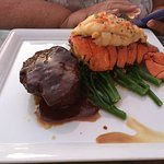 Life doesn't get any better than filet and lobster, the best of both worrlds