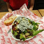 the bluecheese pear salad