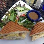 Southwest Grilled Veggie Sandwich