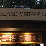 Island Vintage Shave Ice Foto