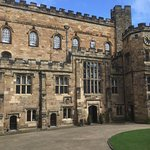 Durham castle picture from the courtyard