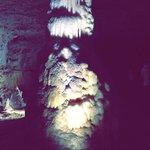 La grotte vue de l'intérieur
