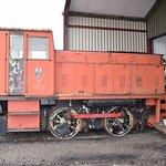 Range of old locomotives