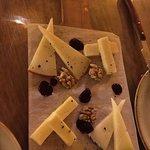 Media tabla de quesos
