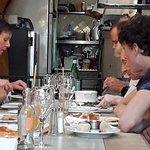 la sauce tartare au fond ... nous sommes dans un restaurant, et en plus un restaurant italien ..