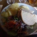 Roast Beef sandwich - The Feathers, Helmsley