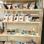 Handmade cards, bags and pottery for sale
