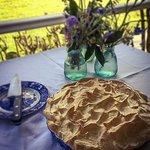 Rainbow Falls Tea House delicious Lemon Meringue Pie