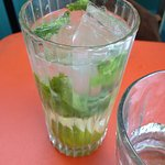 Lime and mint cordial