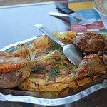 Confit de canard, Volaille de la ferme et Galette de pommes de terre