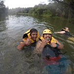 Last Bit of the Journey Enjoying at the Kelani River