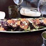 Beet, Orange, Feta, Toasted Almond Salad