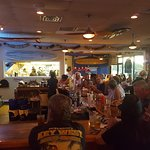 inside Blue Moon Beach Grill