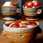 Jon Faulkner Gallery. Handmade Saltglazed ceramics. Dockyard Near Kings and Heritage Wharf